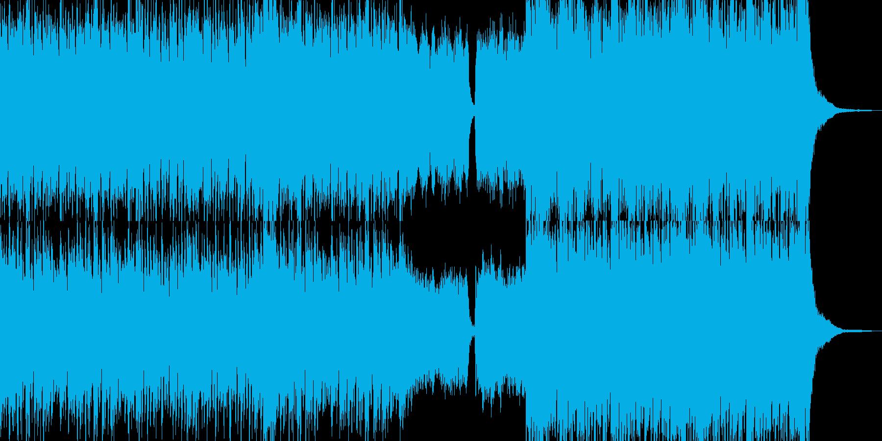ゴージャスな雰囲気漂う日常BGMの再生済みの波形