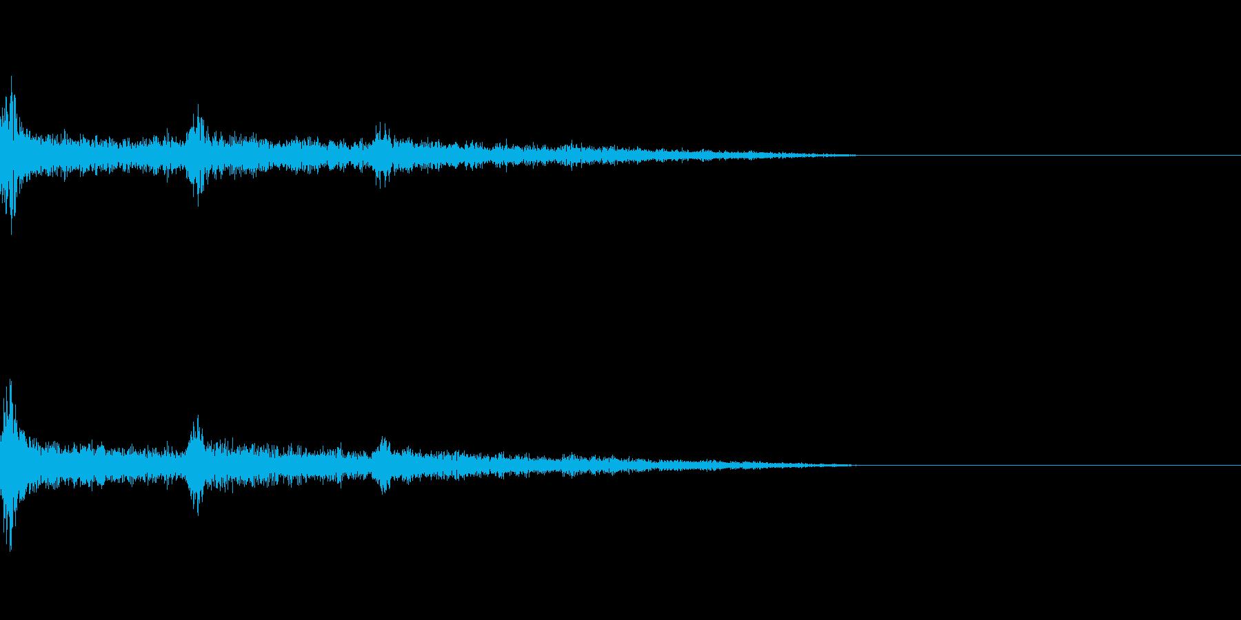 【Horror】決定【カーソル】の再生済みの波形