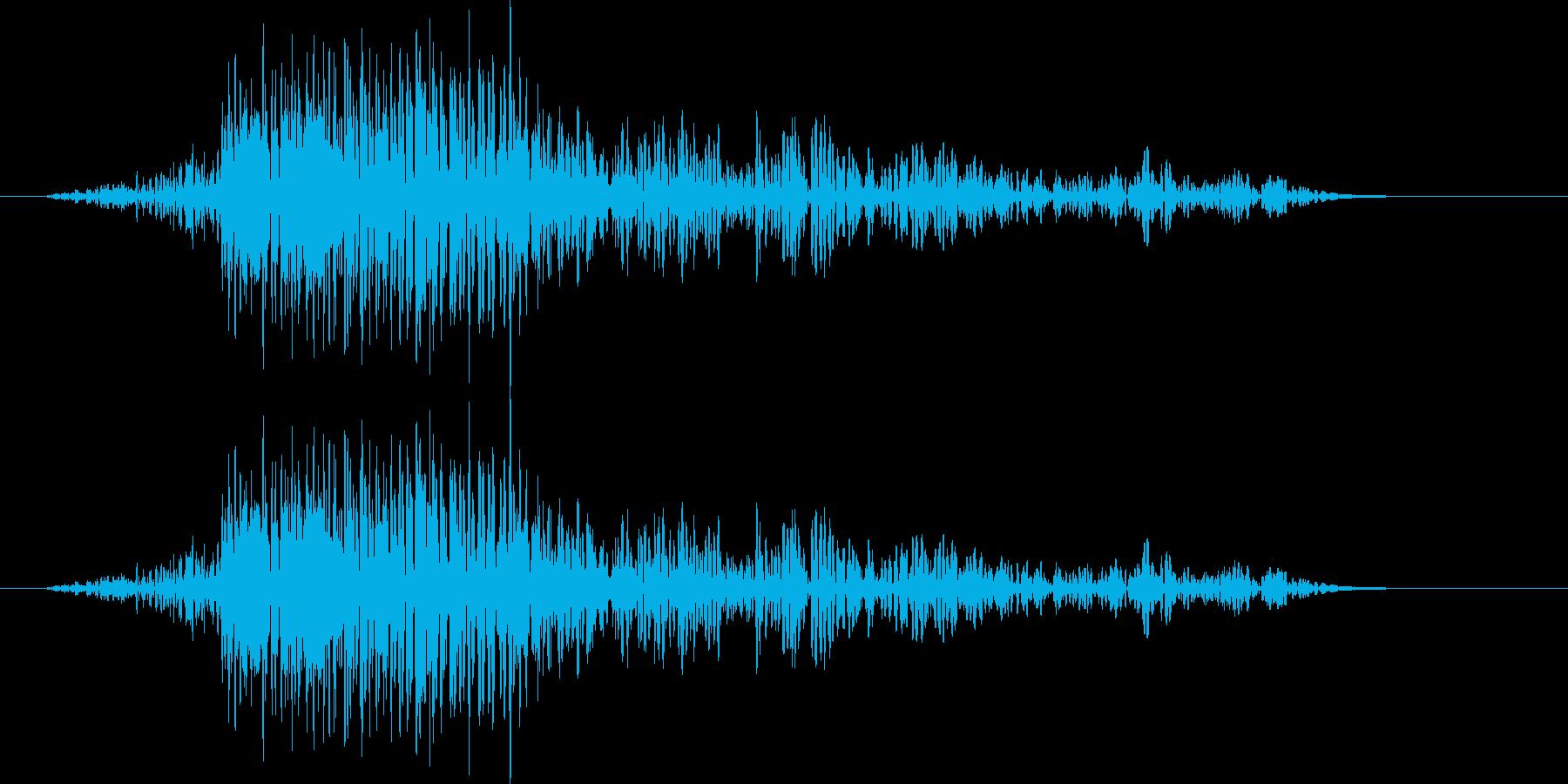 風切り音(ムチ,剣,刀など) 01Lの再生済みの波形