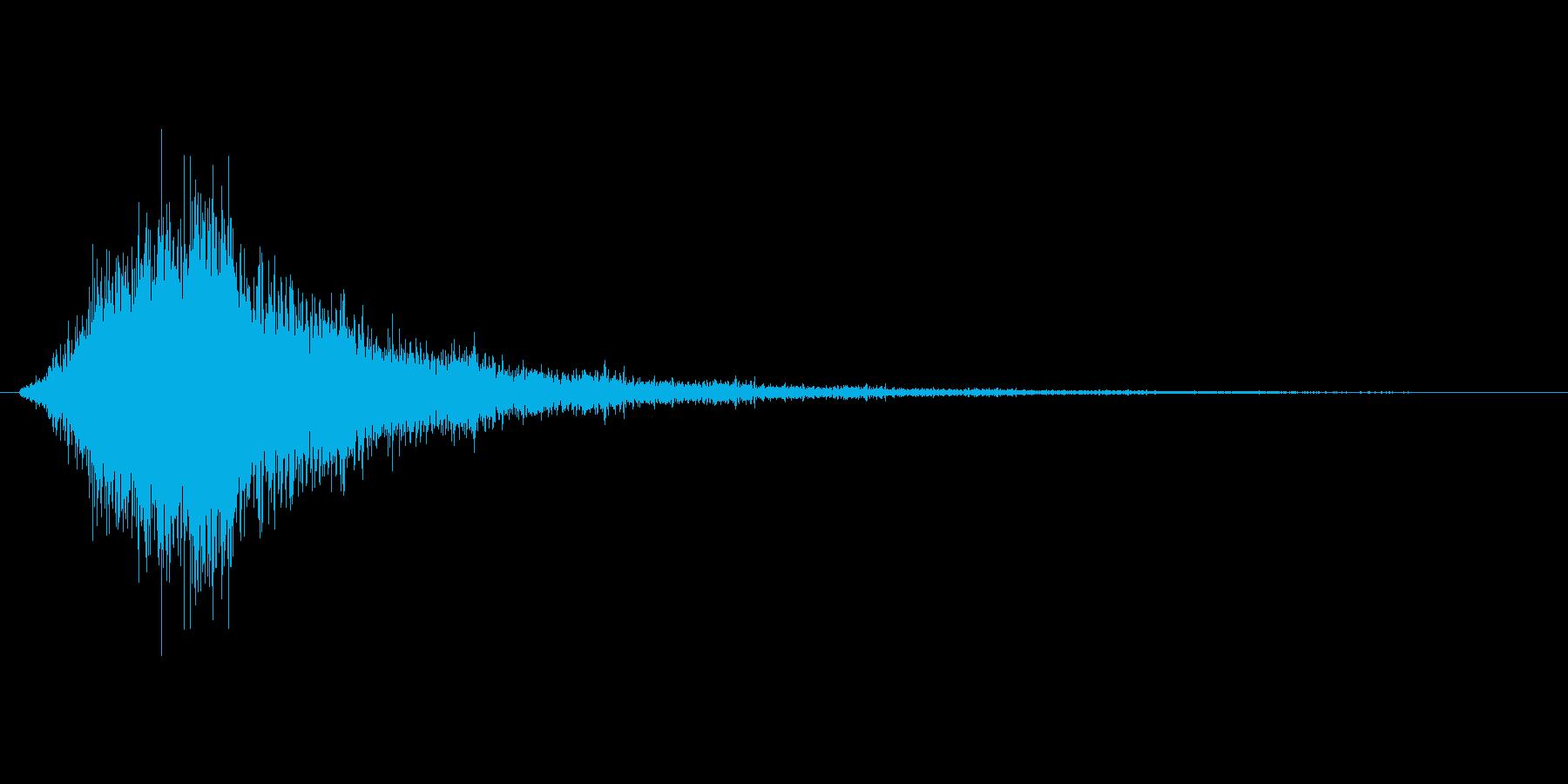 モンスターが消える音、何かが通りすぎる…の再生済みの波形