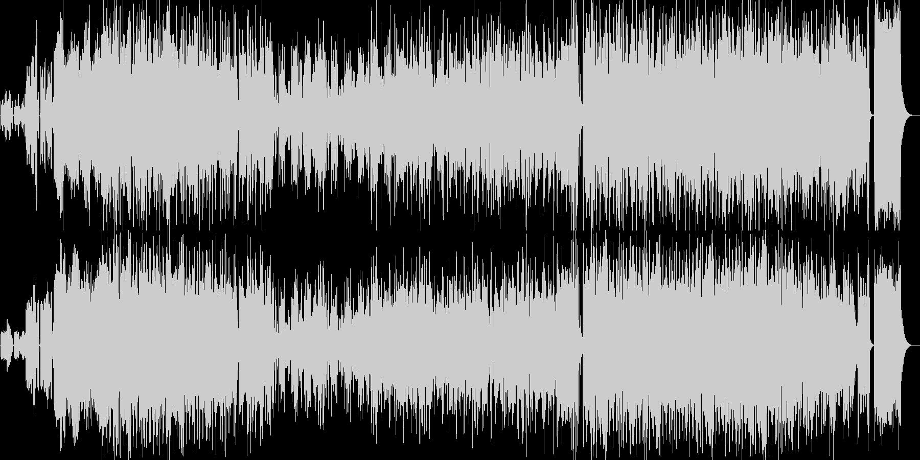 企業VPや映像にオーケストラオープニングの未再生の波形
