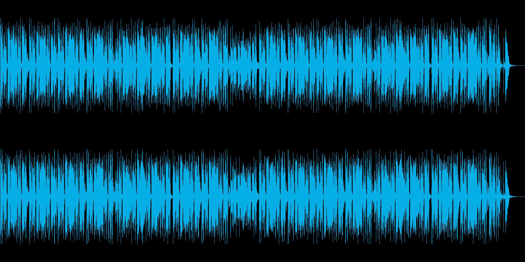 とぼけた渋さの口笛曲の再生済みの波形
