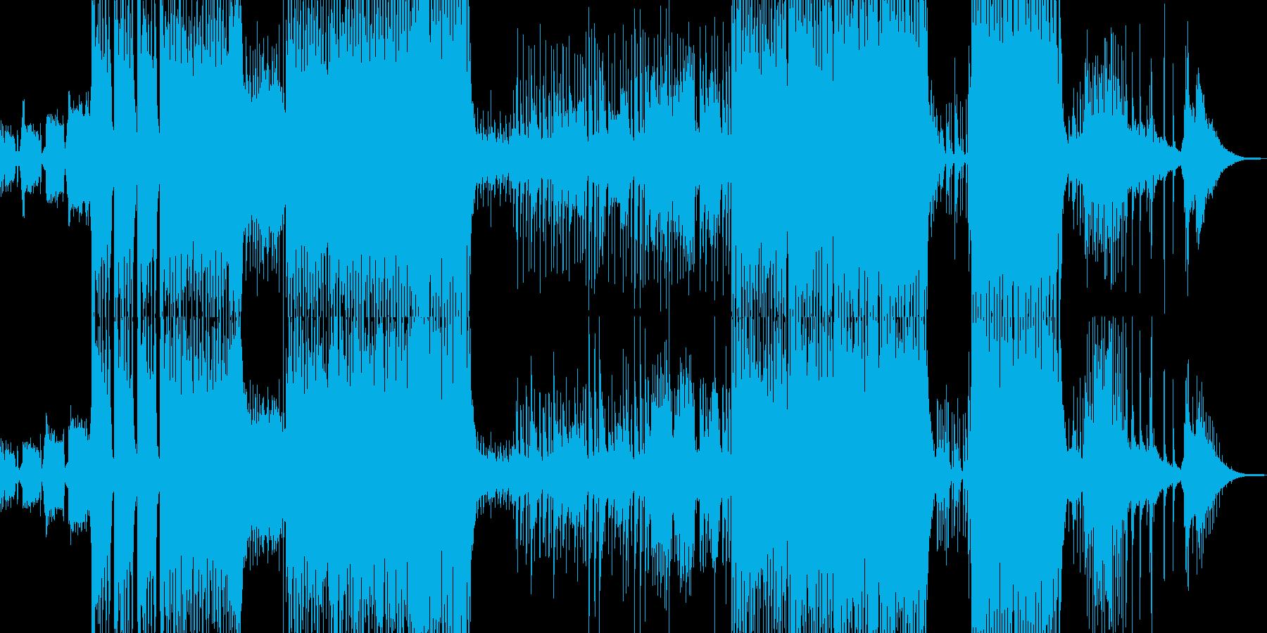 三味線と龍笛の宴テクノコアの再生済みの波形