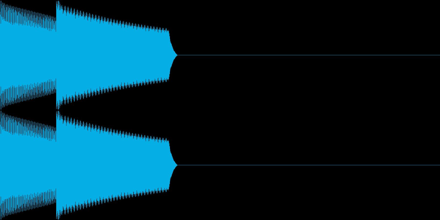 GB 懐かしのゲーム起動音 2の再生済みの波形