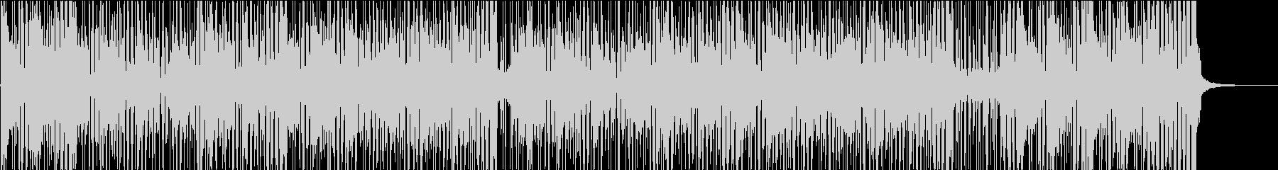 ファンキーな曲ロングバージョンの未再生の波形