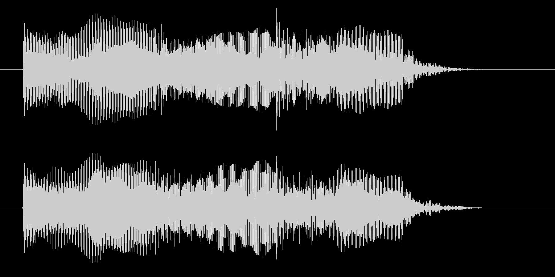 宇宙感のあるシンセ音(撃つ、ゲーム)の未再生の波形