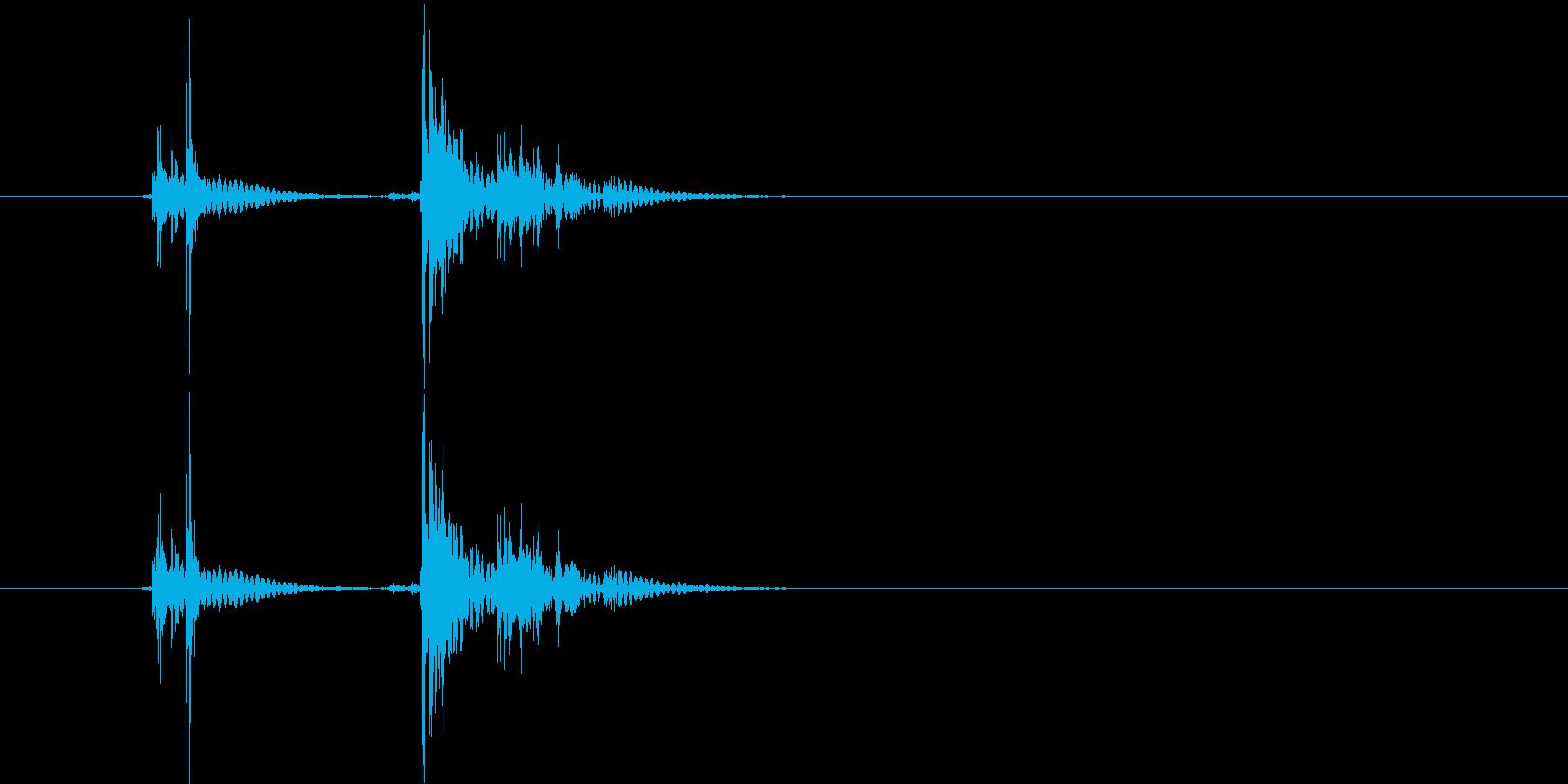 ショッキシン(メカ音)の再生済みの波形