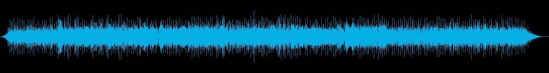 クールなAORの再生済みの波形