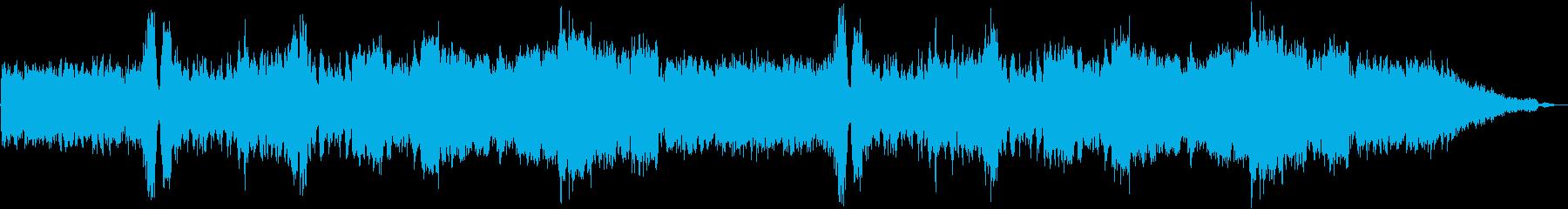 メニュー選択画面_壮大なオーケストラの再生済みの波形
