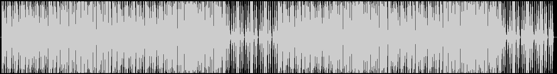 戦闘シーンをイメージした曲.02の未再生の波形
