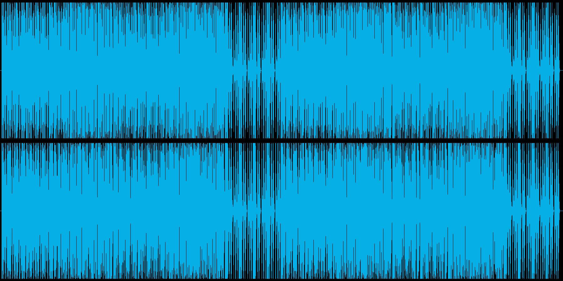 戦闘シーンをイメージした曲.02の再生済みの波形