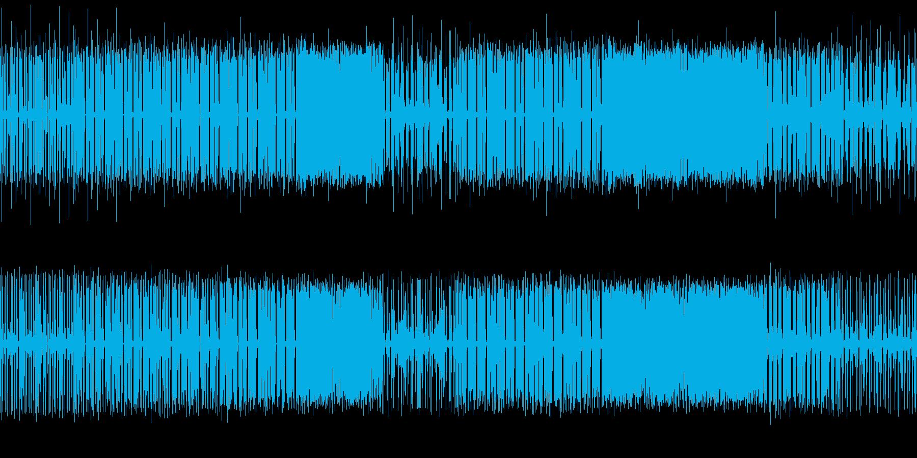 Ragga系のダンスミュージックです。の再生済みの波形