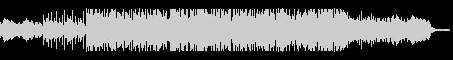 ピアノのメロディーがきれいの未再生の波形