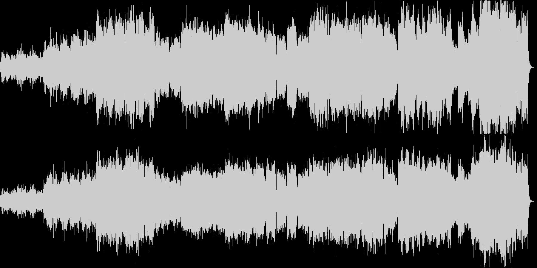 ドビッシーのピアノ曲夢をシンセで弾いたの未再生の波形