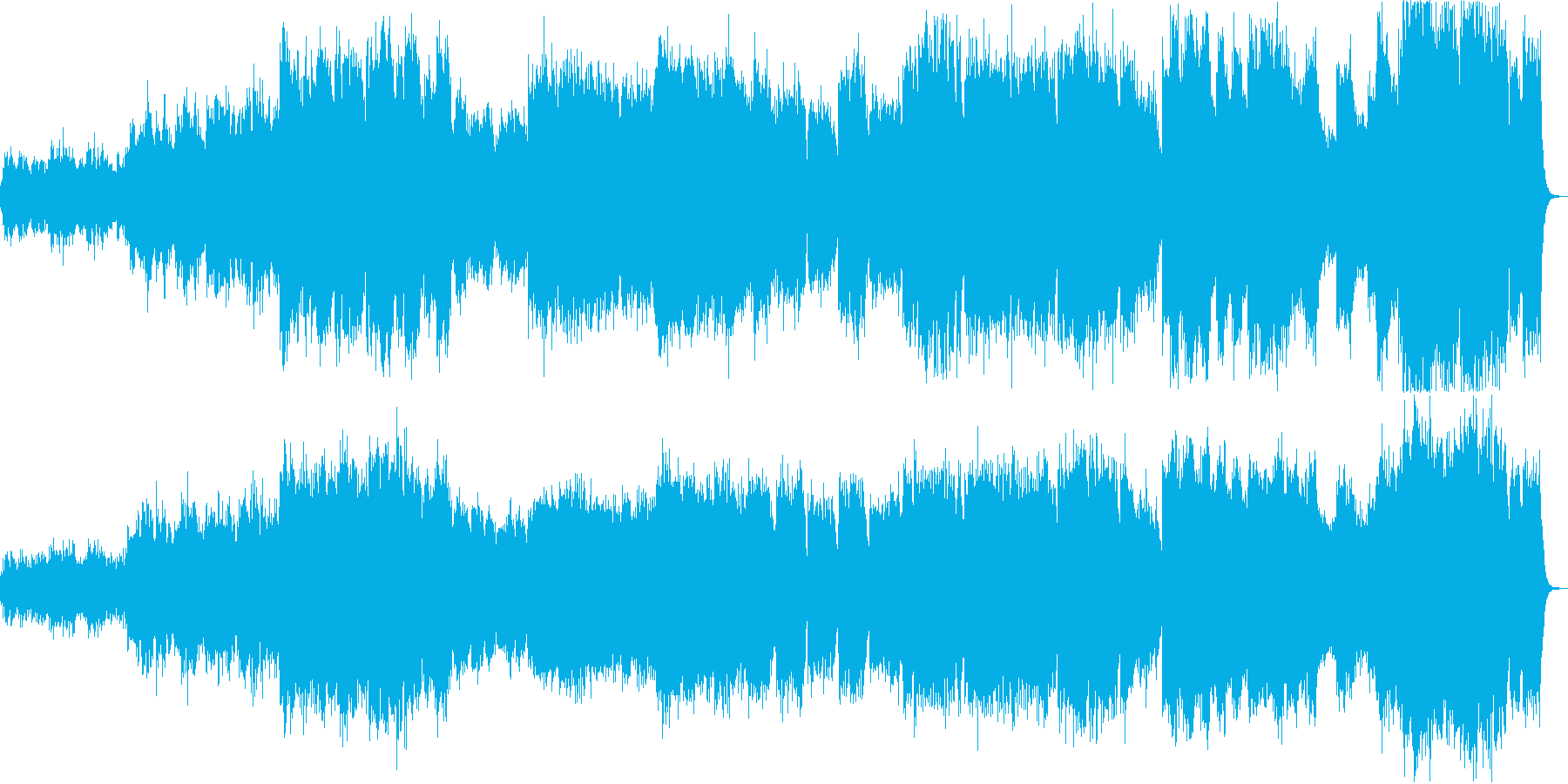 ドビッシーのピアノ曲夢をシンセで弾いたの再生済みの波形