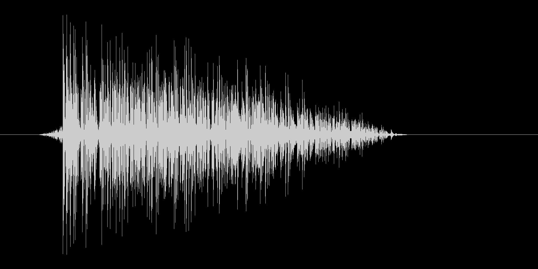 ゲーム(ファミコン風)爆発音_015の未再生の波形
