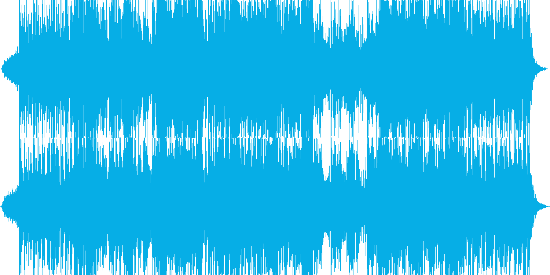 オーケストラ和風戦闘曲1の再生済みの波形