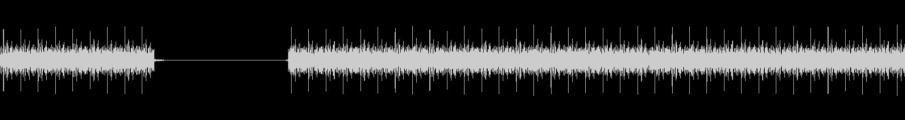 クイズ不正解音(ブブー)1の未再生の波形