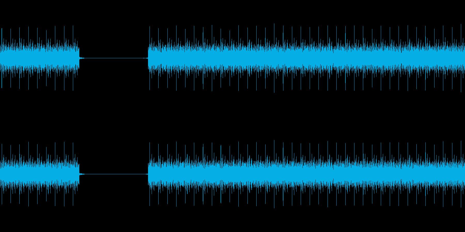 クイズ不正解音(ブブー)1の再生済みの波形