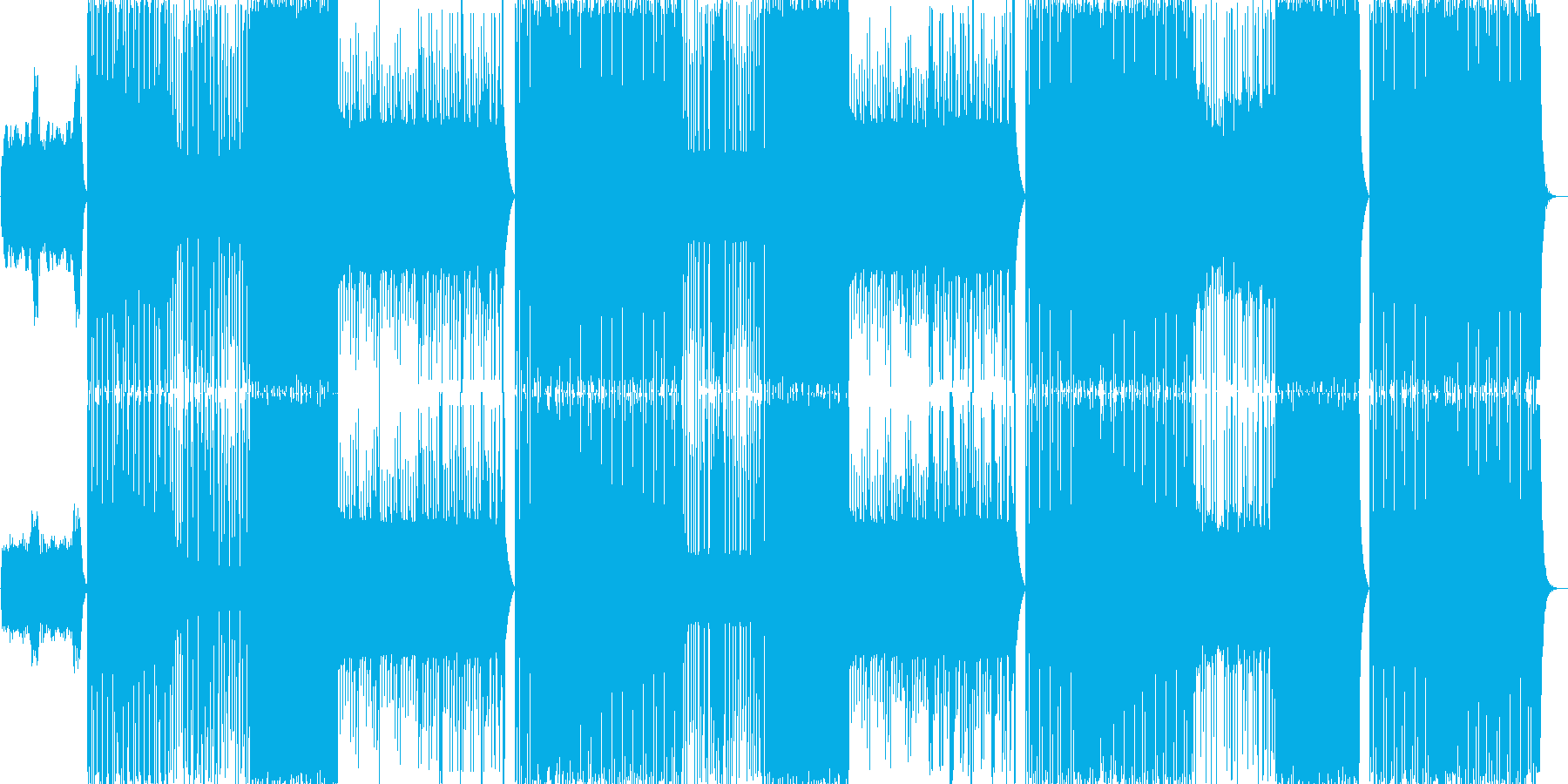 ヒップホップ/クランク/三味線/和#1の再生済みの波形