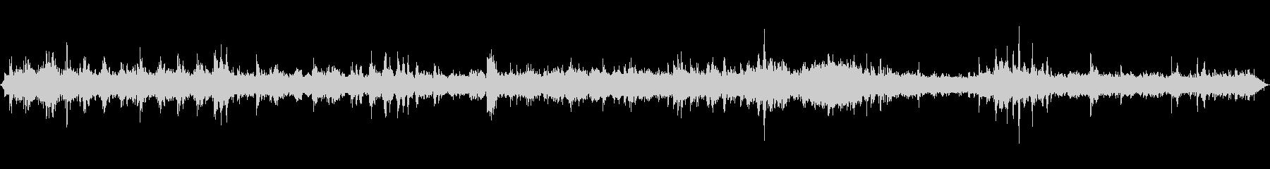 東海道線在来線車内音通常の未再生の波形