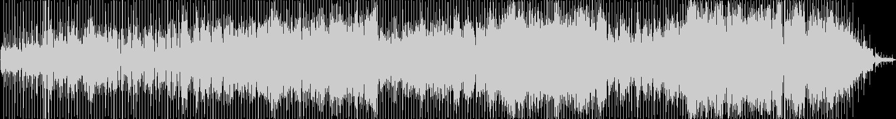 ヒップホップ風のリズムのR&Bバラードの未再生の波形