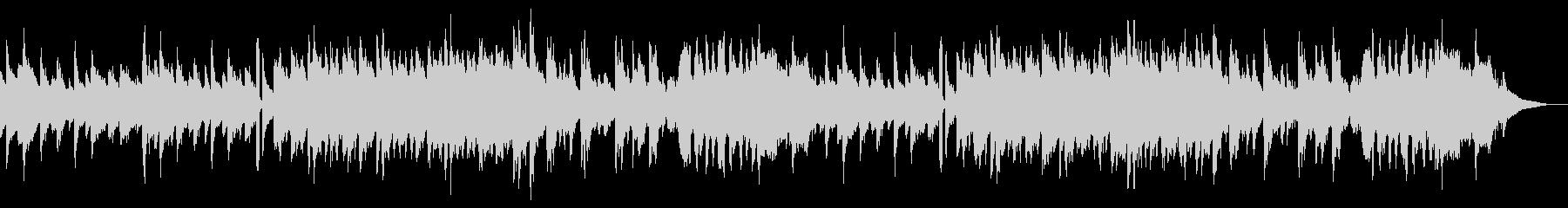 アコーディオンメインのゆったりとした曲の未再生の波形