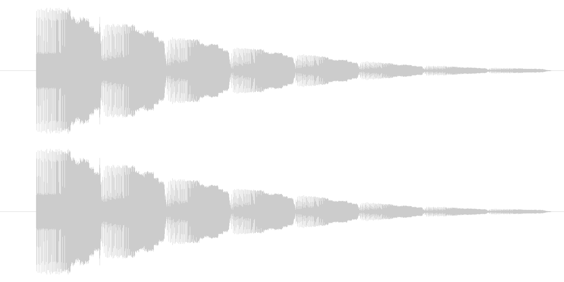 GB シューティング01-09(アイテムの未再生の波形