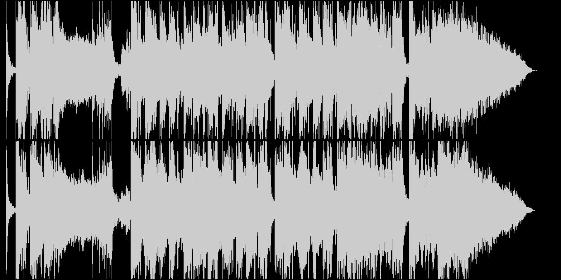 流麗なストリングスが特徴のポップスの未再生の波形