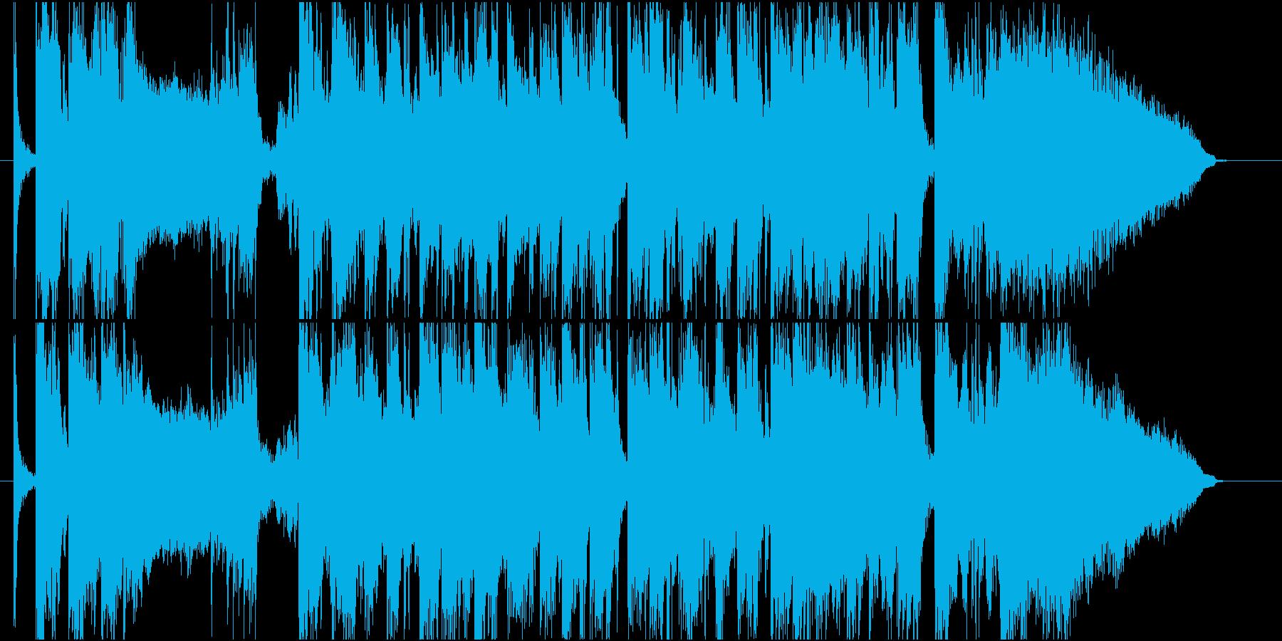 流麗なストリングスが特徴のポップスの再生済みの波形
