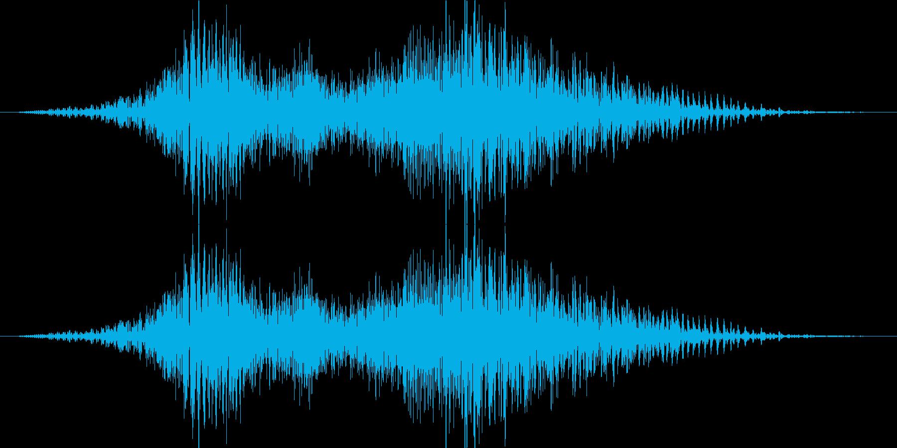 よいやっ!(男女)和風掛け声 祭り の再生済みの波形