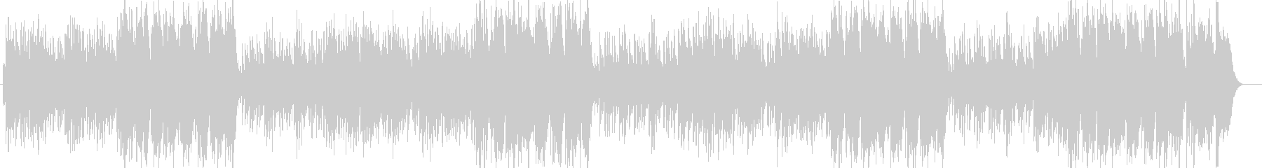優しいシンセのヒーリングミュージックの未再生の波形