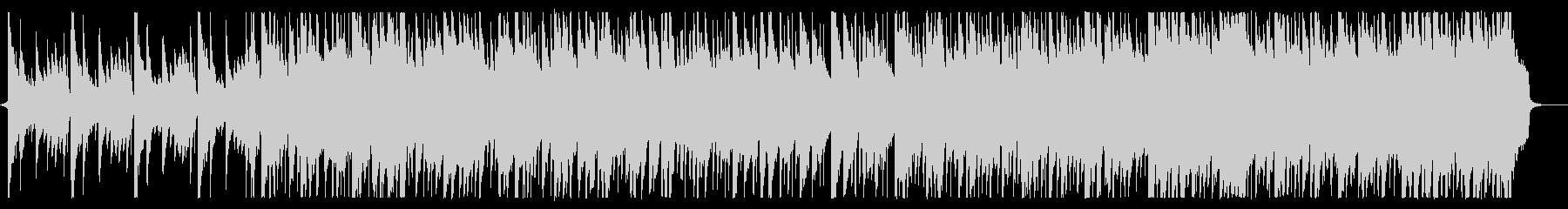 落ち着いた雰囲気のタイトルBGMの未再生の波形