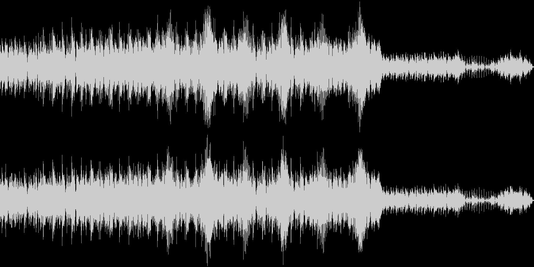 軽やかなポップエレクトロの未再生の波形
