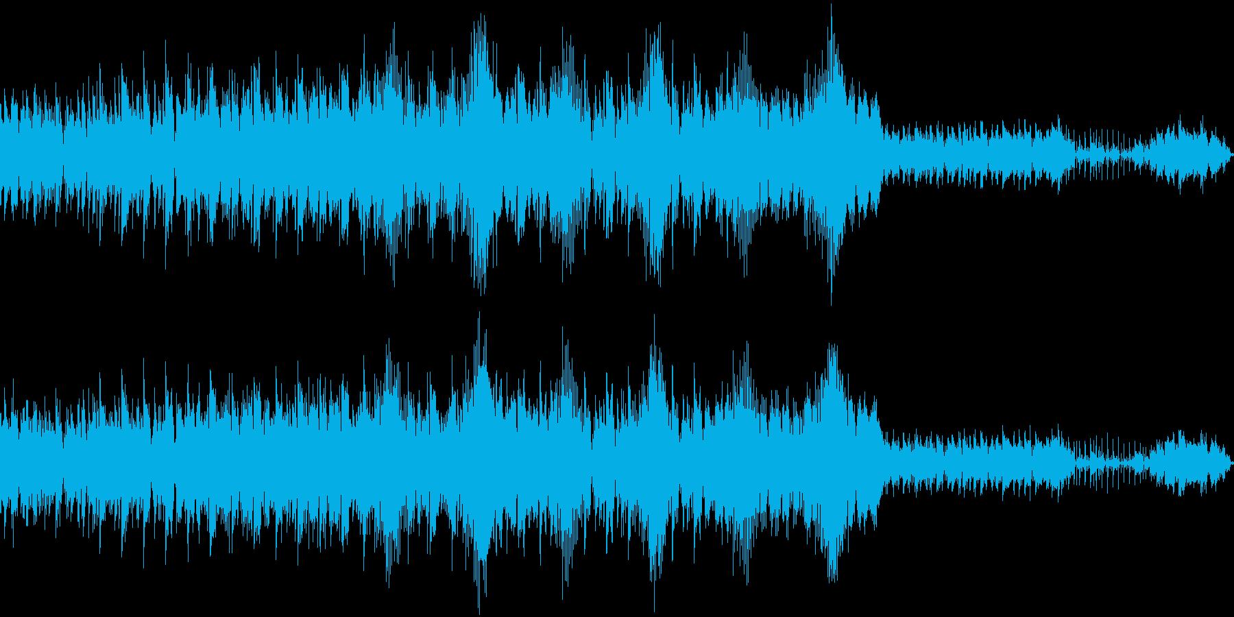 軽やかなポップエレクトロの再生済みの波形