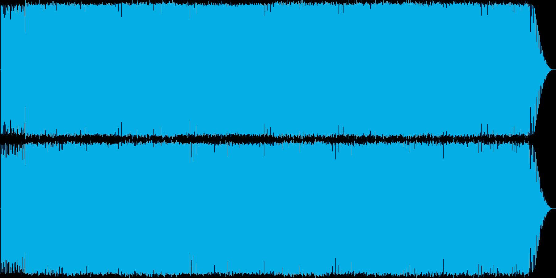 シンプルなトランス系インスト曲ですの再生済みの波形