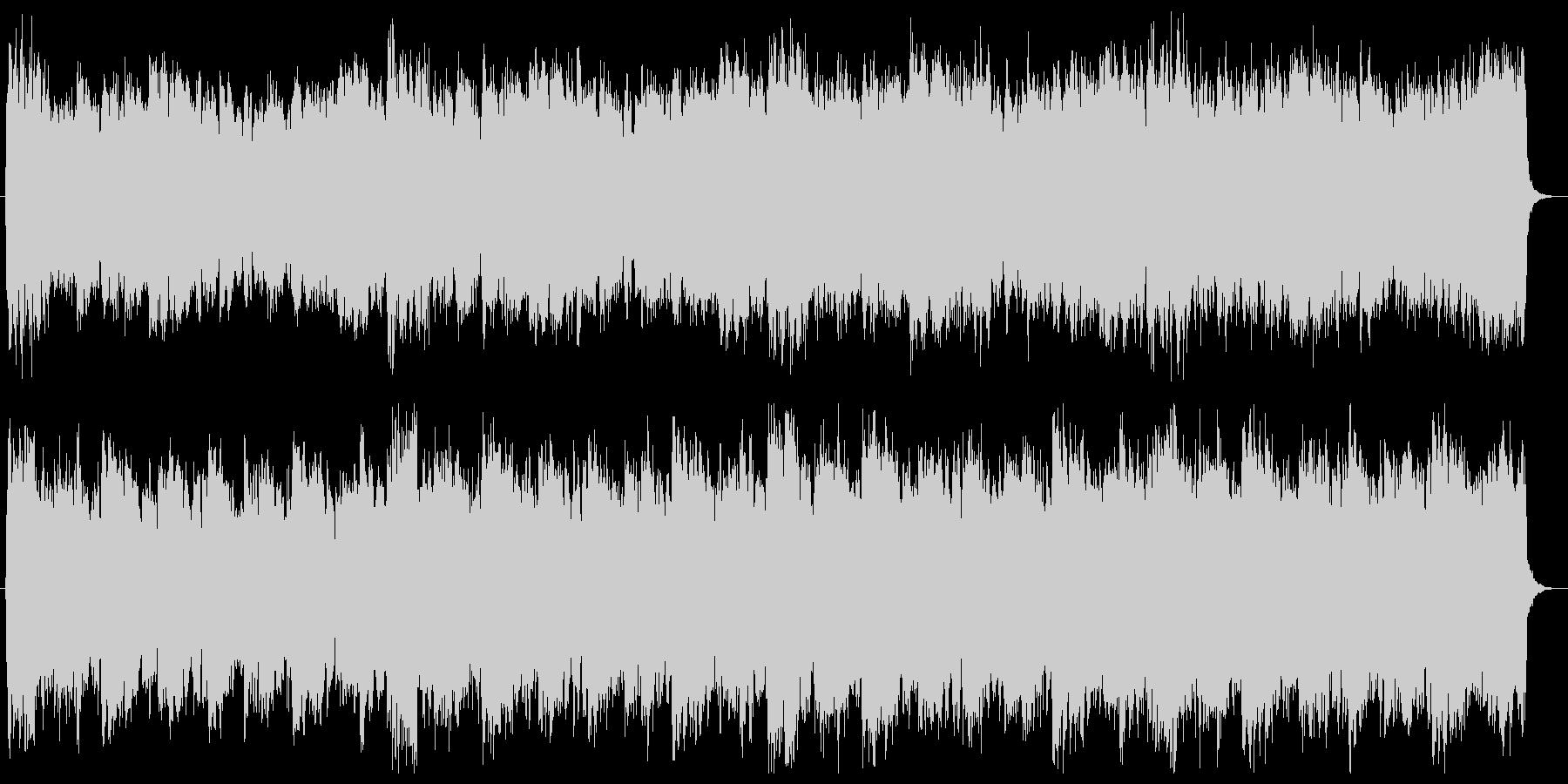 シンセと弦のクールでダークなCM音楽の未再生の波形