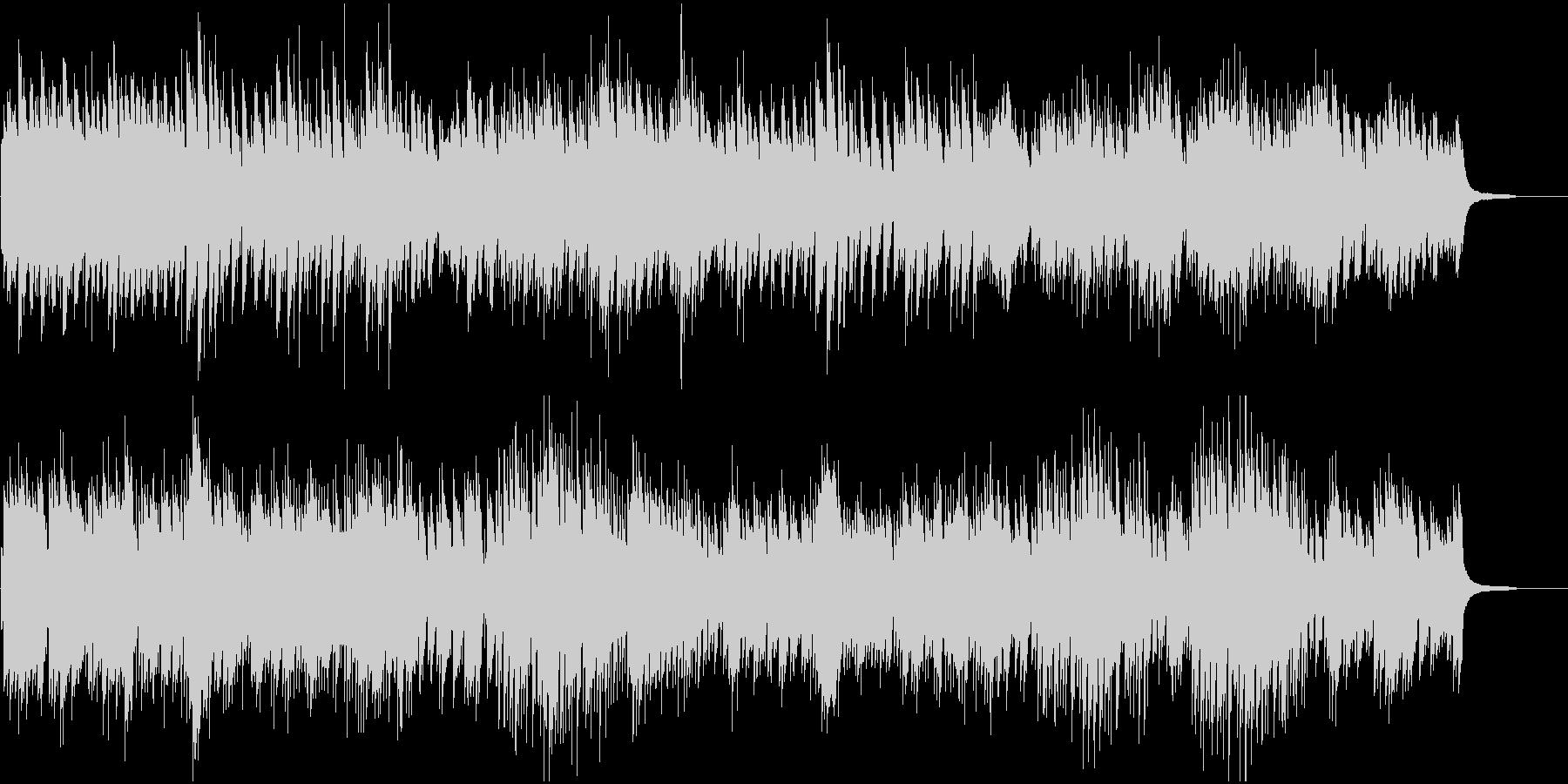 CMや映像に 美しくしっとりピアノソロの未再生の波形