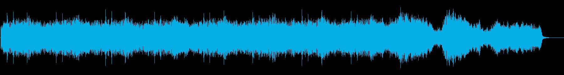 ダークファンタジー 脅威を描いたジングルの再生済みの波形