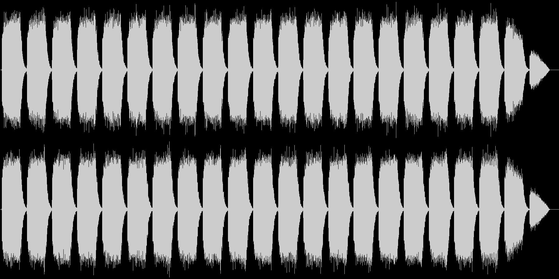 化学プラントサイレン タイプBの未再生の波形