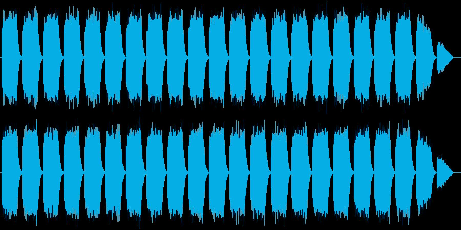 化学プラントサイレン タイプBの再生済みの波形