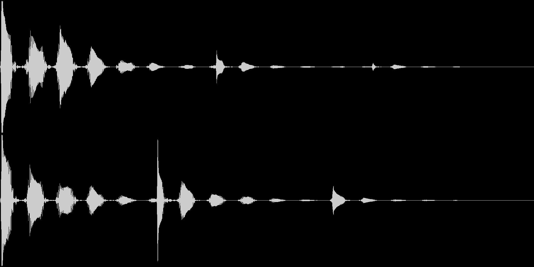 RPG 毒・麻痺攻撃のSE ブクブク 2の未再生の波形