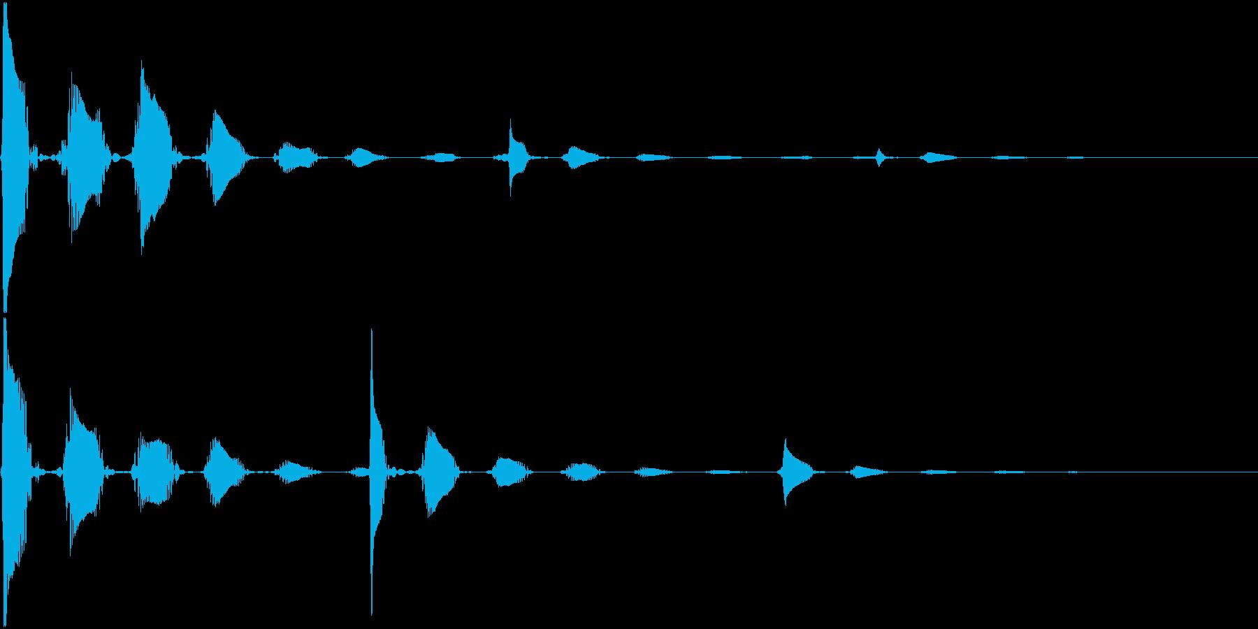 RPG 毒・麻痺攻撃のSE ブクブク 2の再生済みの波形