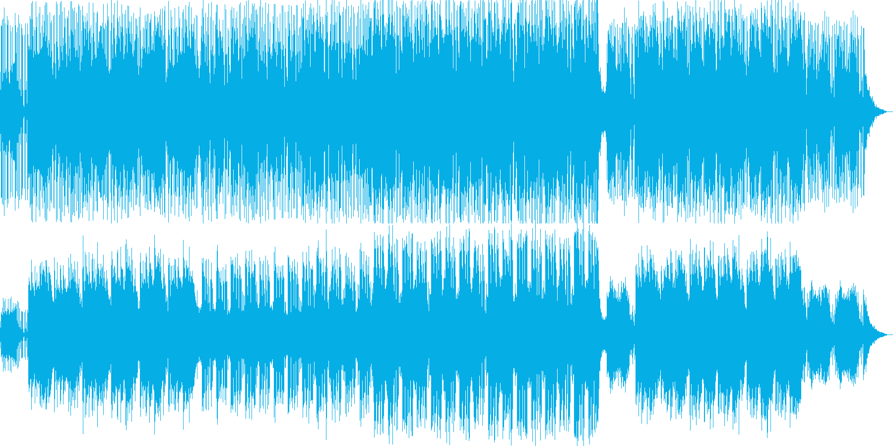 [地球散歩 #1]120bpmの再生済みの波形