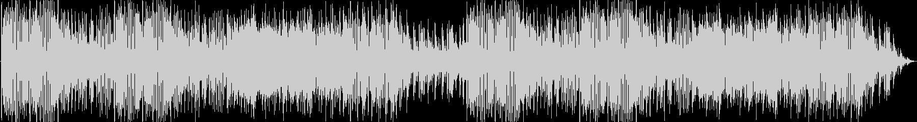 ピアニカや木琴を使った賑やかな曲の未再生の波形