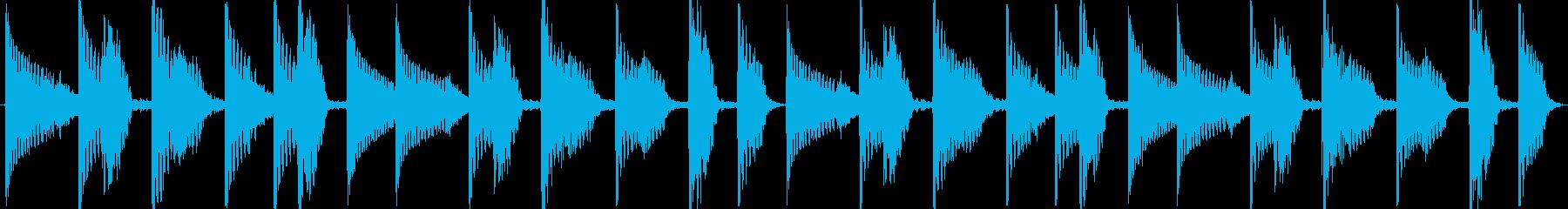 【EDM/ドラム/明るい場面転換】の再生済みの波形