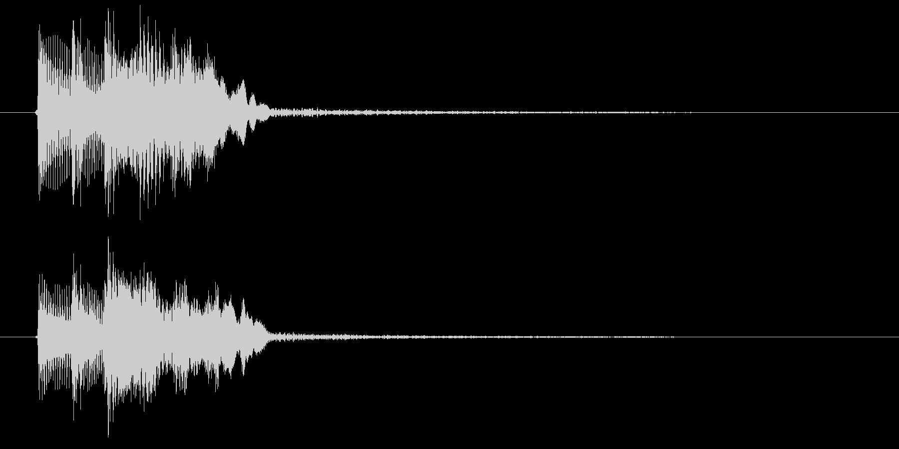 ゲーム決定音1 K15の未再生の波形