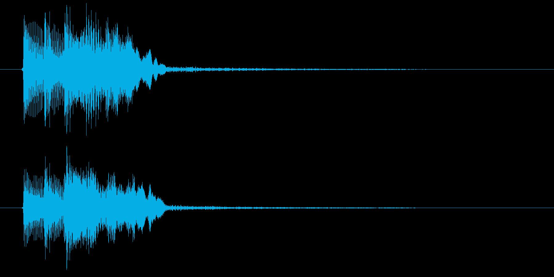 ゲーム決定音1 K15の再生済みの波形