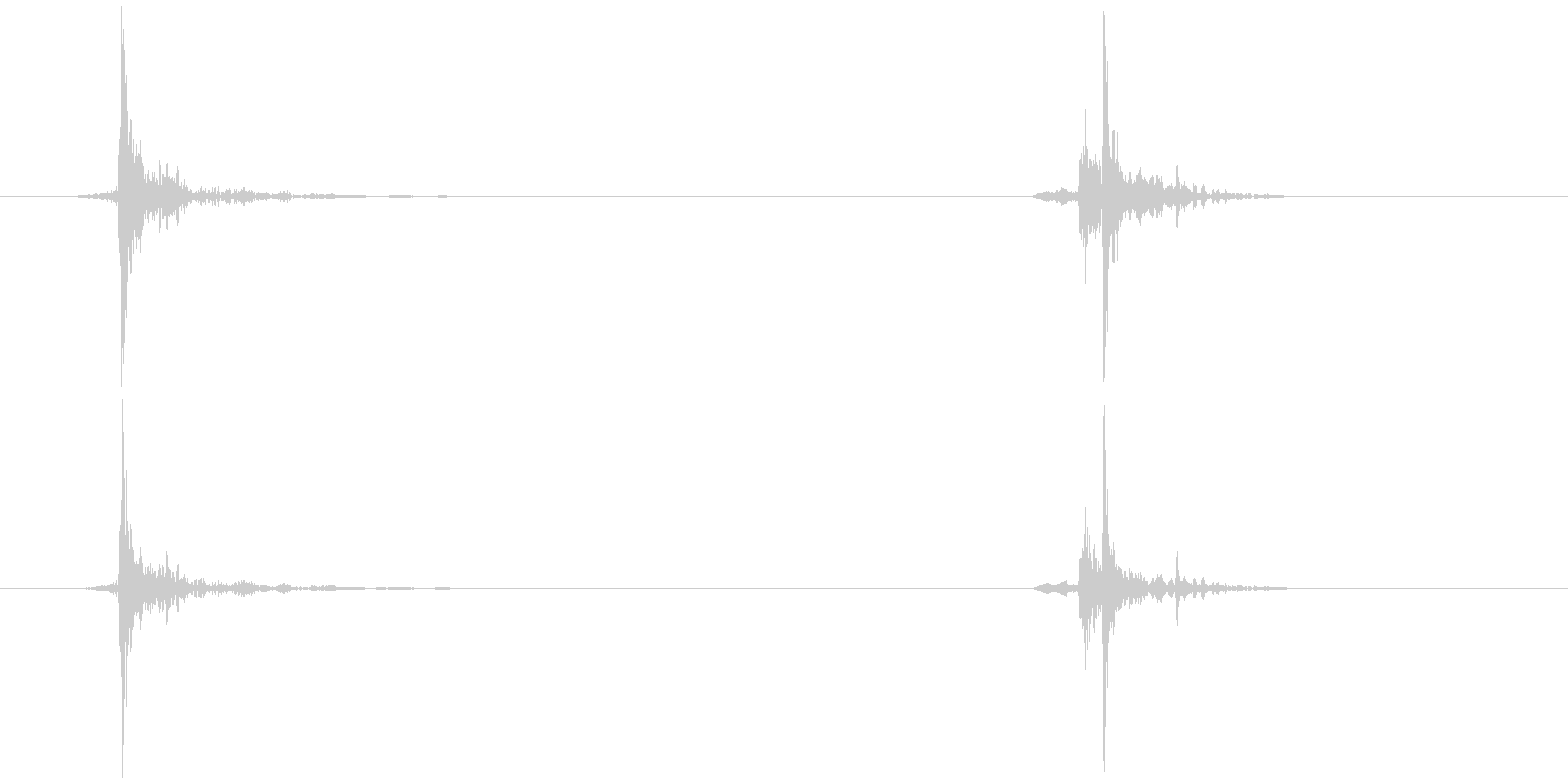 照明 紐を引く (軽め)カッ…チャッの未再生の波形
