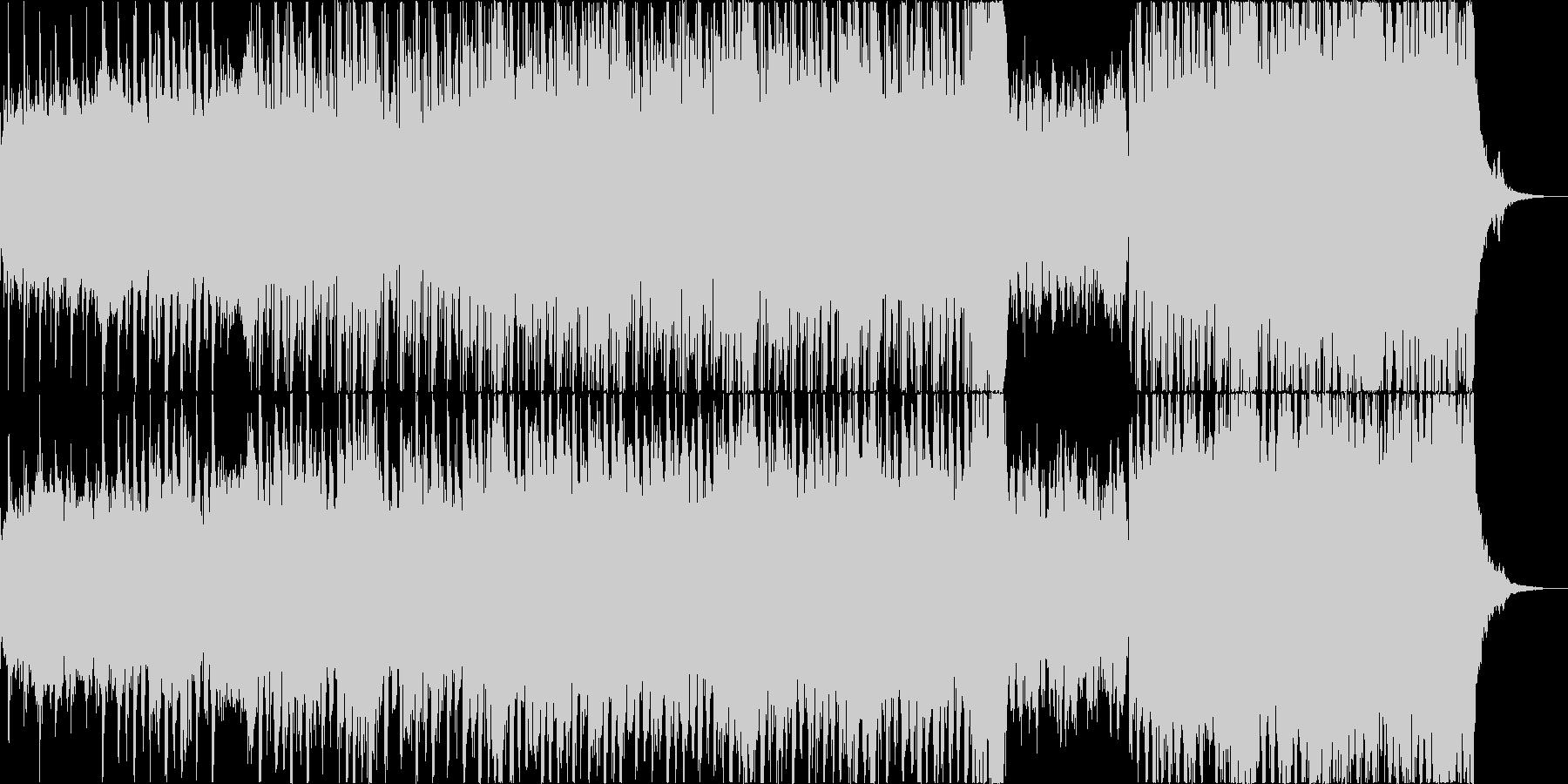 神秘的で思慮深く洞察的なエレクトロの未再生の波形